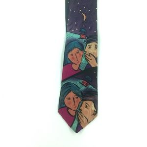 Vintage The Beatles Silk Tie